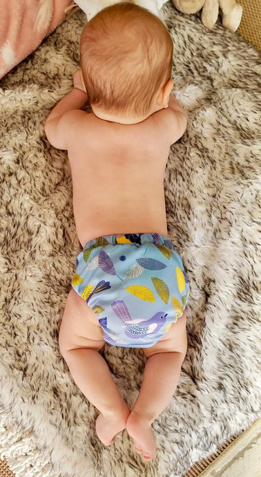 How to achieve a good fit when using cloth diapers