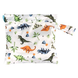 Charlie Banana Reusable Waterproof Tote Bag Dinosaur print The Cloth Nappy Company Malta