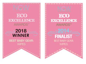 Charlie Banana Organic Cotton Wipes award winning The Cloth Nappy Company Malta