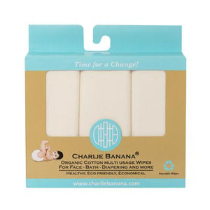Charlie Banana Organic Cotton Wipes The Cloth Nappy Company Malta