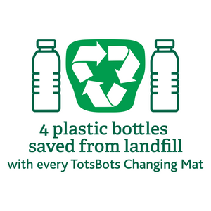Tots Bots Happy Mat recycled from plastic bottles The Cloth Nappy Company Malta