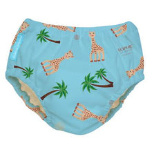 Load image into Gallery viewer, The Cloth Nappy Company Malta Charlie Banana Swim Potty Training Pants Sophie Coco Blue