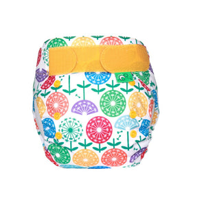Tots Bots EasyFit - All in One Dandy print The Cloth Nappy Company