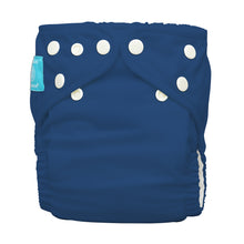 Load image into Gallery viewer, Charlie Banana One Size Hybrid Pocket Nappy Dark Blue The Cloth Nappy Company Malta