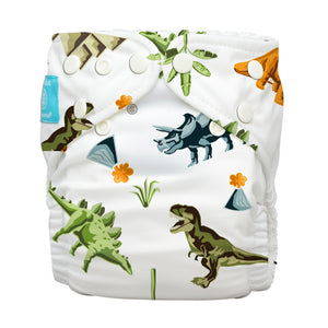 Charlie Banana One Size Hybrid Pocket Nappy Dinosaurs The Cloth Nappy Company Malta