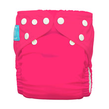 Load image into Gallery viewer, Charlie Banana One Size Hybrid Pocket Nappy Fluorescent Hot Pink The Cloth Nappy Company Malta