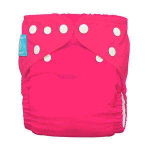 Charlie Banana One Size Hybrid Pocket Nappy Fluorescent Hot Pink The Cloth Nappy Company Malta