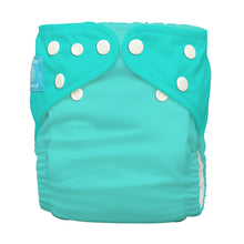 Load image into Gallery viewer, Charlie Banana One Size Hybrid Pocket Nappy Fluorescent Turquoise The Cloth Nappy Company Malta
