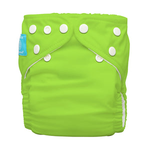 Charlie Banana One Size Hybrid Pocket Nappy Green The Cloth Nappy Company Malta