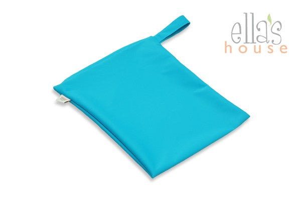 The Cloth Nappy Company Malta Ella's House Wet Bag Teal