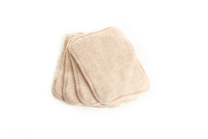 The Cloth Nappy Company Malta Ella's House Bum Wipes Reuseable
