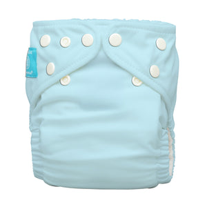 Charlie Banana One Size Hybrid Pocket Nappy light blue The Cloth Nappy Company Malta