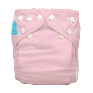 Charlie Banana One Size Hybrid Pocket Nappy light pink The Cloth Nappy Company Malta