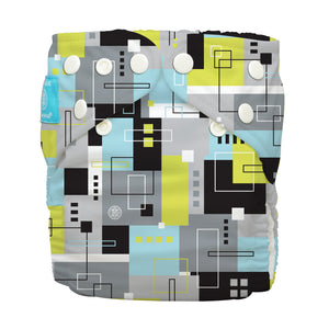 Charlie Banana One Size Hybrid Pocket Nappy Picasso The Cloth Nappy Company Malta