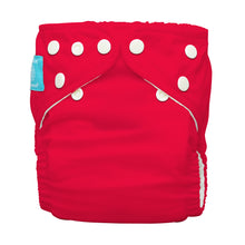 Load image into Gallery viewer, Charlie Banana One Size Hybrid Pocket Nappy Red The Cloth Nappy Company Malta