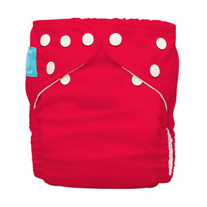 Charlie Banana One Size Hybrid Pocket Nappy Red The Cloth Nappy Company Malta