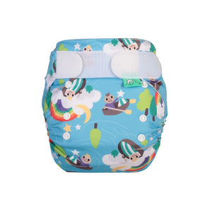 Tots Bots EasyFit - All in One Row your Boat print The Cloth Nappy Company