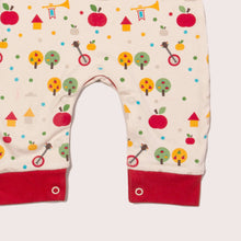 Load image into Gallery viewer, The Cloth Nappy Company Malta Little Green Radicals Apple Everyday Dungarees 2