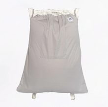Load image into Gallery viewer, The Cloth Nappy Company Malta La Petite Ourse Large deluxe wet bag grey