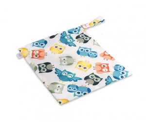 The Cloth Nappy Company Malta Ella's House Wet Bag Owls