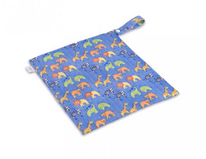 The Cloth Nappy Company Malta Ella's House Wet Bag Animals