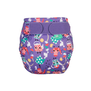 Tots Bots EasyFit - All in One Teapot print The Cloth Nappy Company