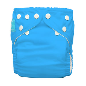 Charlie Banana One Size Hybrid Pocket Nappy Turquoise The Cloth Nappy Company Malta