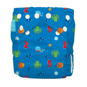 Charlie Banana One Size Hybrid Pocket Nappy Under the sea The Cloth Nappy Company Malta