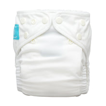 Load image into Gallery viewer, Charlie Banana One Size Hybrid Pocket Nappy White The Cloth Nappy Company Malta