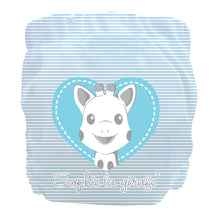 Load image into Gallery viewer, Charlie Banana X-Small Pocket Nappy newborn Sophie blue heart The Cloth Nappy Company Malta