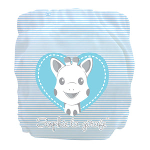 Charlie Banana X-Small Pocket Nappy newborn Sophie blue heart The Cloth Nappy Company Malta