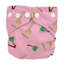 Load image into Gallery viewer, Charlie Banana X-Small Pocket Nappy newborn Sophie coco pink The Cloth Nappy Company Malta