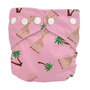Charlie Banana X-Small Pocket Nappy newborn Sophie coco pink The Cloth Nappy Company Malta
