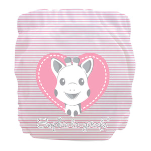 Charlie Banana X-Small Pocket Nappy newborn Sophie pink heart The Cloth Nappy Company Malta