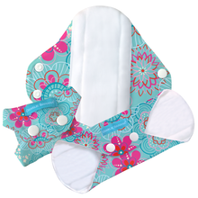 Load image into Gallery viewer, The Cloth Nappy Company Charlie Banana Feminine Care Reusable Regular Pads Floriana