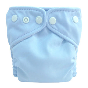 Charlie Banana X-Small Pocket Nappy Baby Blue The Cloth Nappy Company Malta