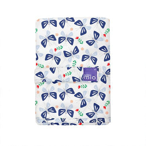 The Cloth Nappy Company Malta Bambino Mio reusable change mat butterfly bloom