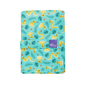The Cloth Nappy Company Malta Bambino Mio reusable change mat jungle snake