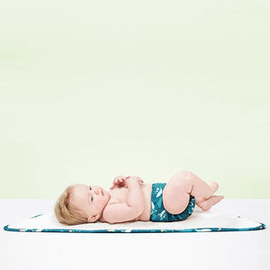 The Cloth Nappy Company Malta Bambino Mio reusable change mat soft baby gift