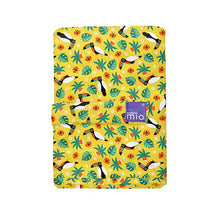 Load image into Gallery viewer, The Cloth Nappy Company Malta Bambino Mio reusable change mat tropical toucan