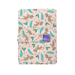 The Cloth Nappy Company Malta Bambino Mio reusable change mat wild cat