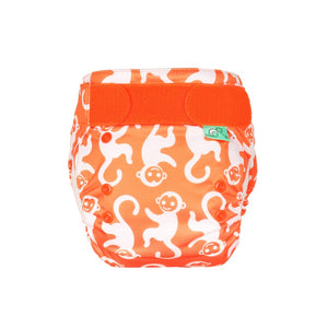 Tots Bots EasyFit - All in One Chimpantzee print The Cloth Nappy Company