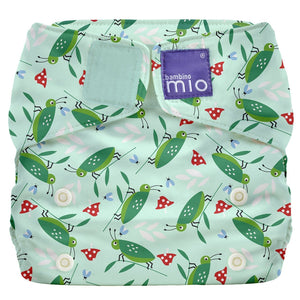 Bambino Mio Miosolo All in One Happy Hopper print The Cloth Nappy Company Malta
