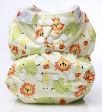 Load image into Gallery viewer, Bambooty One Size Nappy Cover Safari print The Cloth Nappy Company Malta