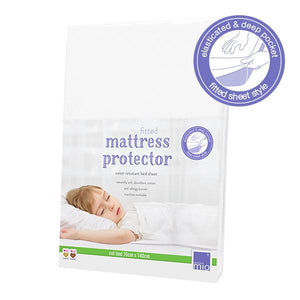 The Cloth Nappy Company Malta Bambino Mio fitted mattress protector toddler bed