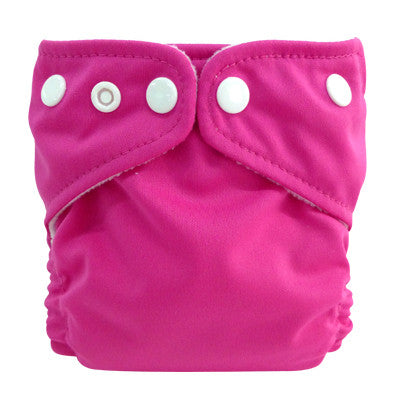 Charlie Banana X-Small Pocket Nappy Hot Pink The Cloth Nappy Company Malta