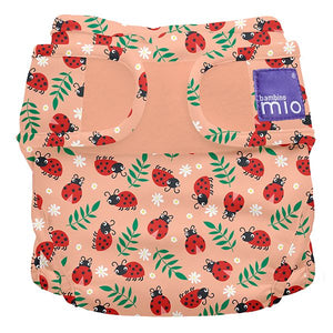 The Cloth Nappy Company Malta Bambino Mio Cover loveable ladybug print