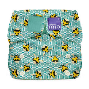 Bambino Mio Miosolo All in One Bumble print The Cloth Nappy Company Malta