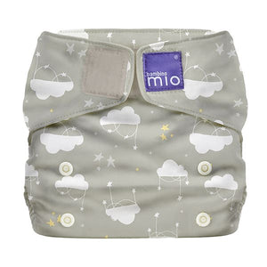 Bambino Mio Miosolo All in One Cloud Nine print The Cloth Nappy Company Malta
