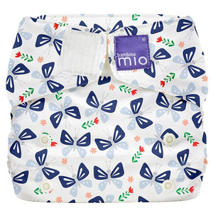 Bambino Mio Miosolo All in One Butterfly Bloom print The Cloth Nappy Company Malta